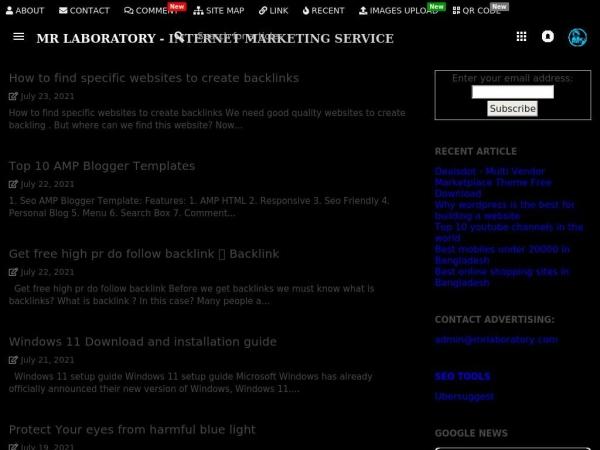 mrlaboratory.info